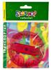 Транспортир Silwerhof 160073COLORFUL пластик красный 360градус. объемный пластиковый пакет с европо