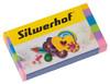 Ластик Silwerhof 181115 Пластилиновая коллекция 60×28×10мм каучук ассорти индивидуальная картонная у