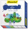 Мел цветной Silwerhof 883015-06 Пластилиновая кол-ция 3цв./3бел.