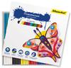 Пластилин Silwerhof 956147-12 Бабочки 12цв. 180гр. картон.кор.