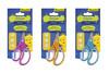Ножницы Silwerhof 453082 Джинсовая коллекция детские 130мм ручки с резиновой вставкой ассорти блисте