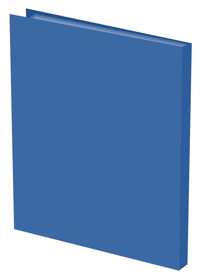 Папка с 20 прозр.вклад. Silwerhof Basic 255067-02 A4 0.5мм синий