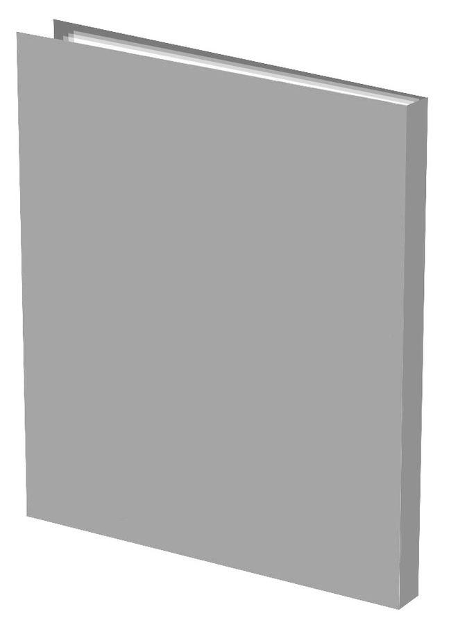 Папка с 40 прозр.вклад. Silwerhof Basic 255069-11 A4 0.5мм серый
