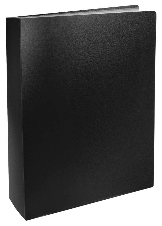Папка с 60 прозр.вклад. Silwerhof Basic 255150-01 A4 0.6мм черный