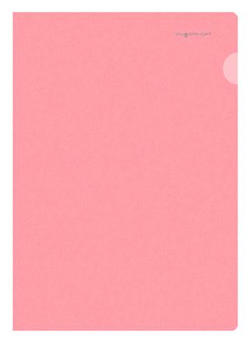 Папка-уголок Silwerhof Classic 255133-04 A4 0.15мм красный