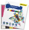 (ДУБЛЬ) Пластилин Silwerhof 956147-10 Бабочки 10цв. 150гр. картон.кор. вид 1