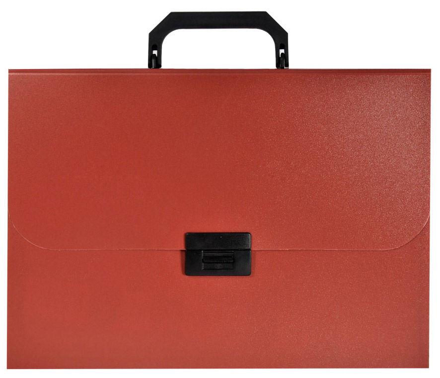 Портфель Silwerhof Basic 255077-27 13 отдел. A4 песок пластик 0.7мм красный