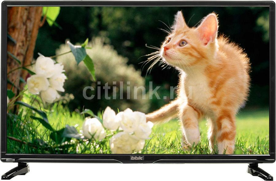 "LED телевизор BBK 24LEM-1028/T2C  ""R"", 24"", HD READY (720p),  черный"