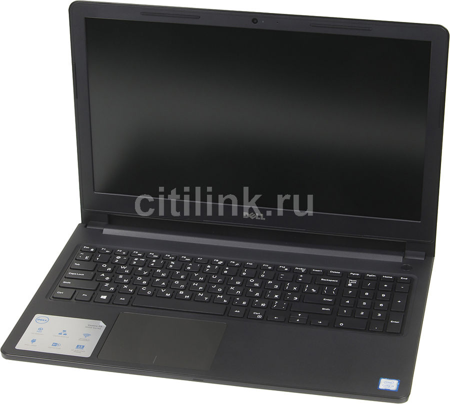 Ноутбук DELL Vostro 3568, 15.6, Intel Core i3 6006U 2ГГц, 4Гб, 500Гб, Intel HD Graphics 520, DVD-RW, Windows 10 Home, 3568-8154, черный ноутбук dell vostro 3568 3568 9378 i3 6006u 2 0 4gb 500gb 15 6 hd tn hd graphics 520 win10 pro black