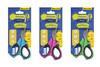 Ножницы детские 453085 ДЖИНС КОЛ, 15см, пластиковые ручки с резиновыми вставками, блистер с европод