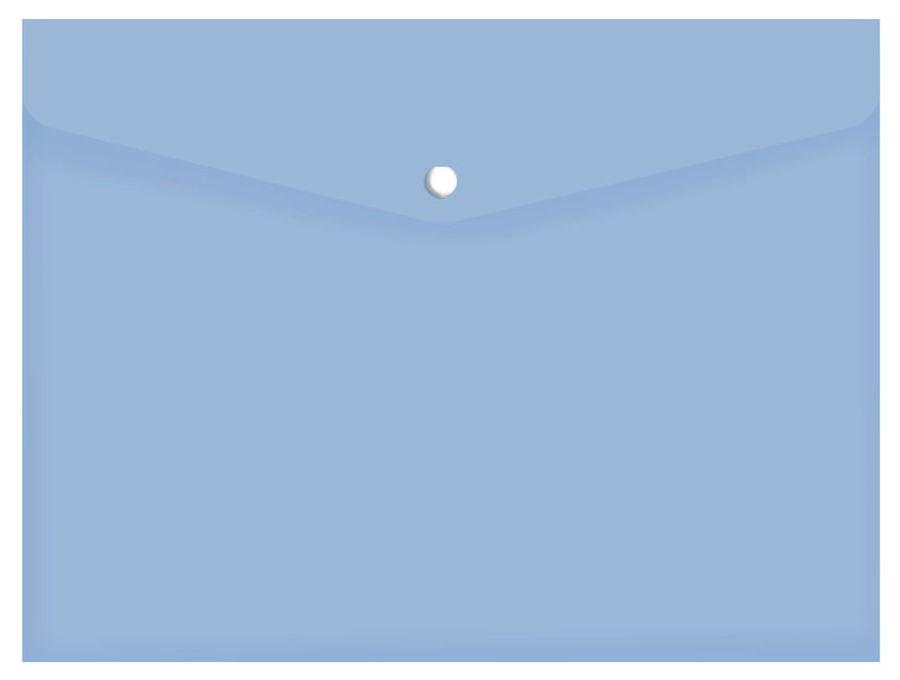 Конверт на кнопке Silwerhof 255080-02 A4 гориз. тисненый 0.12мм синий