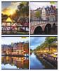 Тетрадь Silwerhof 811495-55 40л. клет. A5 Амстердам 4диз. картон вод.лак скрепка вид 1