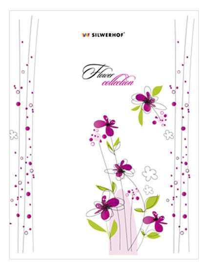 Записная книжка SILWERHOF Floral,  A5,  64лист.,  в линейку [752007-55]
