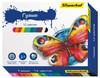 Гуашь Silwerhof 962076-12 Бабочки 12цв. бан. 15мл. картон.кор. вид 1