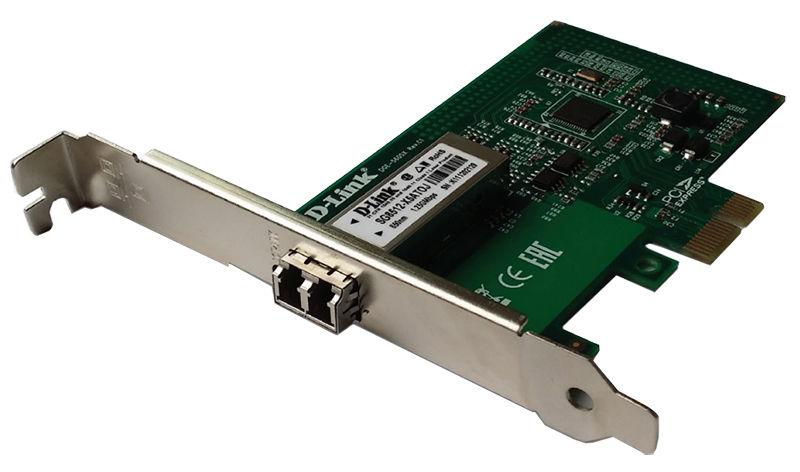 Сетевой адаптер Gigabit Ethernet D-LINK DGE-560SX PCI Express [dge-560sx/lc/c1a]