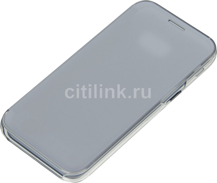 SAMSUNG Чехол (флип-кейс) SAMSUNG Clear View Cover, для Samsung Galaxy A5 (2017), голубой [ef-za520clegru]