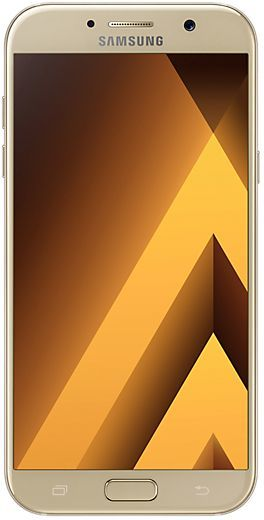 Смартфон SAMSUNG Galaxy A7 (2017) 32Gb,  SM-A720F,  золотистый