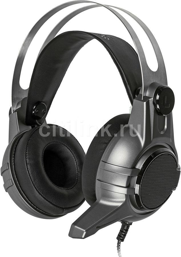 Наушники с микрофоном A4 Bloody M425,  мониторы, темно-серый  [m425 grey]