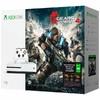 Игровая консоль MICROSOFT Xbox One S с 1 ТБ памяти, игрой Gears of War 4 и подпиской Live на 3 месяца,  234-00013-1, белый вид 4