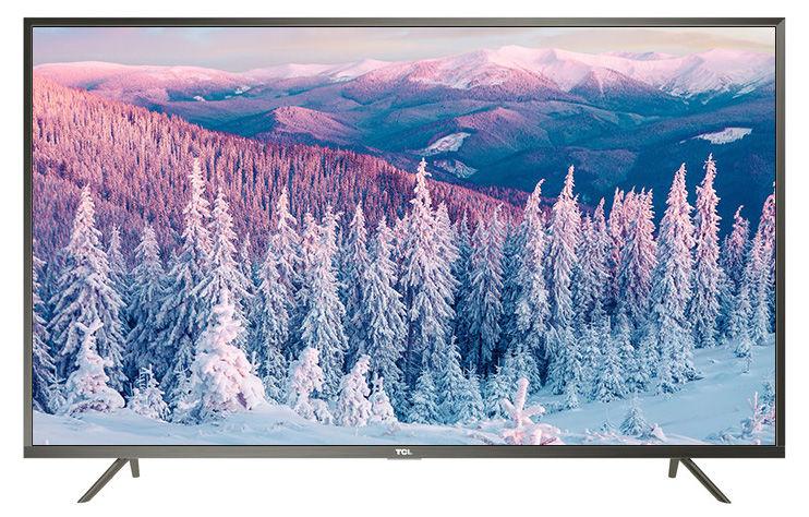 "LED телевизор TCL L49P2US  ""R"", 49"", Ultra HD 4K (2160p),  стальной"