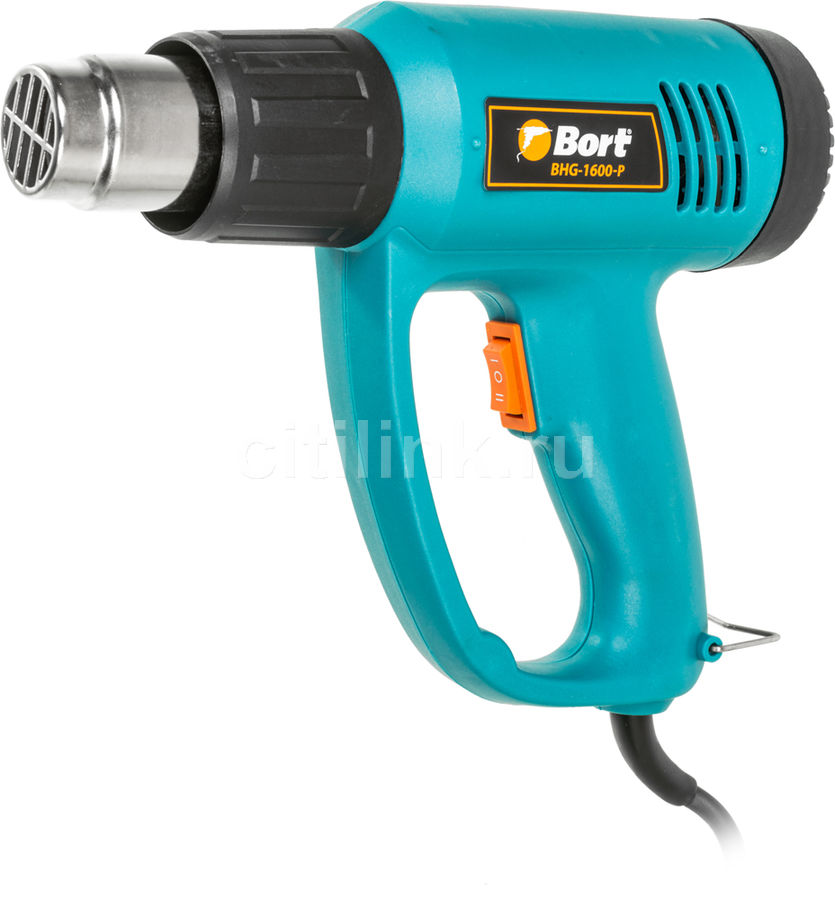 Технический фен BORT BHG-1600-P [91271051]