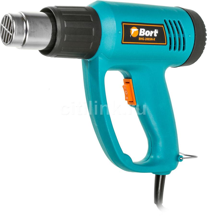 Технический фен BORT BHG-2005N-K [91271068]