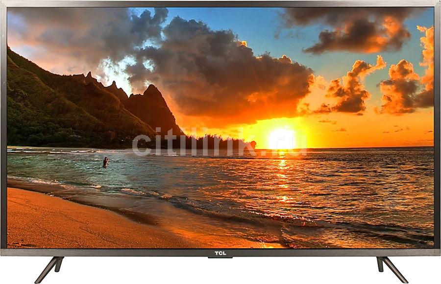 "LED телевизор TCL L43P2US  ""R"", 43"", Ultra HD 4K (2160p),  стальной"