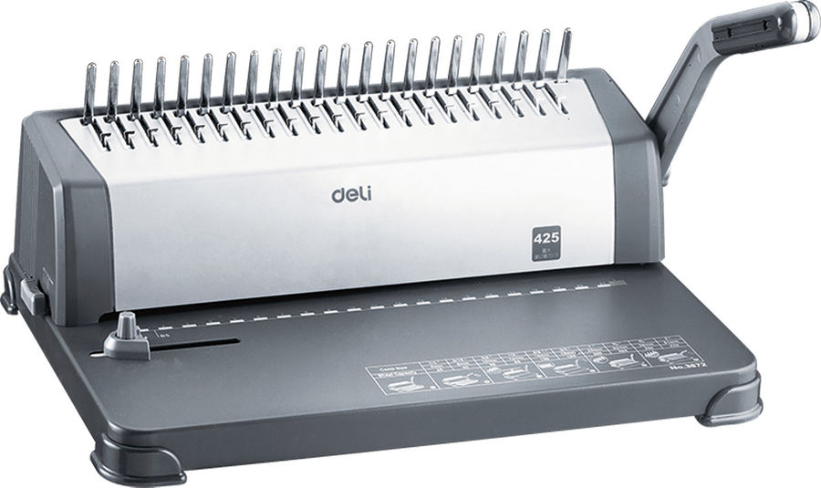 Переплетчик DELI EASY E3872,  A4,  от 10 до 16 мм