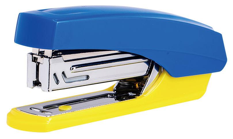 Степлер ручной Deli E0246 N10 (12листов) ассорти 50скоб коробка