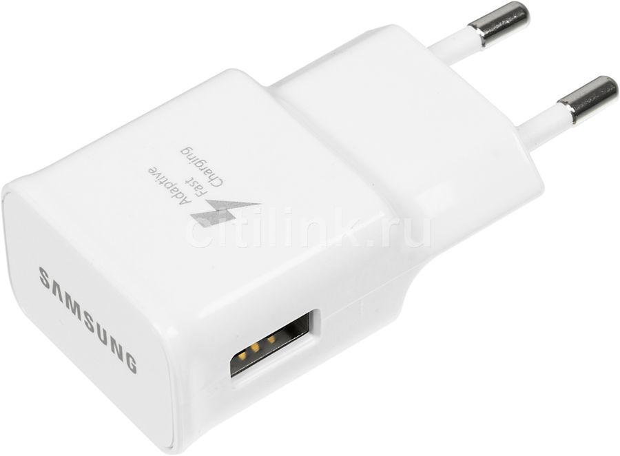 Сетевое зарядное устройство SAMSUNG EP-TA20EWECGRU,  USB,  USB type-C,  2A,  белый