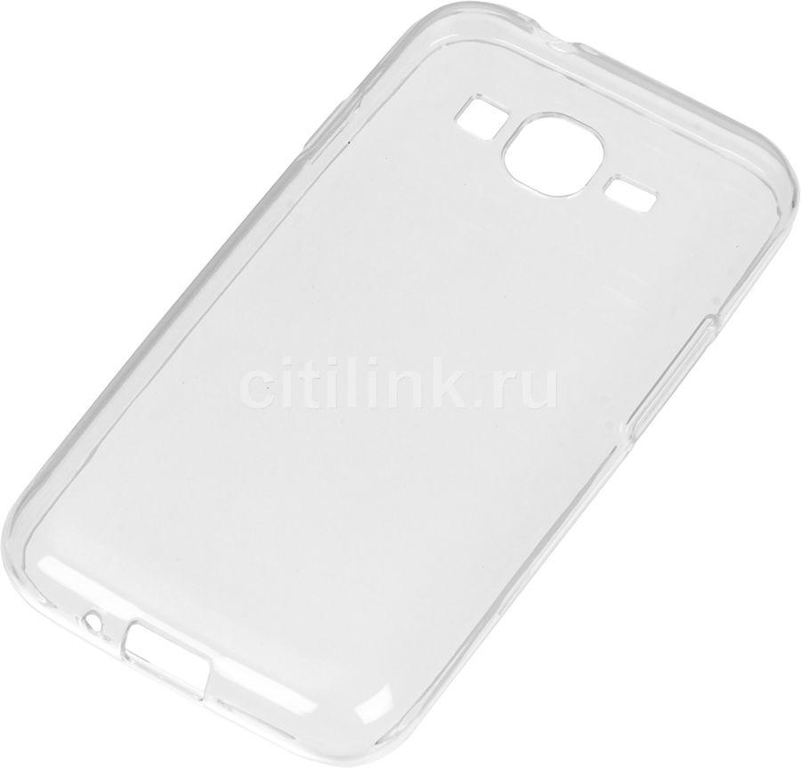 Чехол (клип-кейс) REDLINE iBox Crystal, для Samsung Galaxy J1 mini prime (2017)/J106F, прозрачный [ут000010390]
