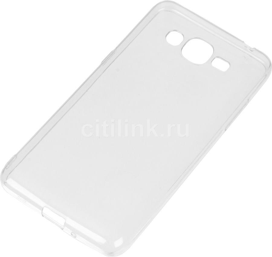 Чехол (клип-кейс) REDLINE iBox Crystal, для Samsung Galaxy J2 Prime, прозрачный [ут000009893]