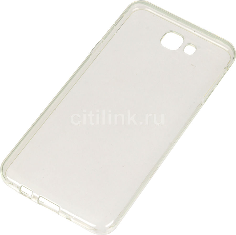 Чехол (клип-кейс) REDLINE iBox Crystal, для Samsung Galaxy J5 Prime, прозрачный [ут000009895]