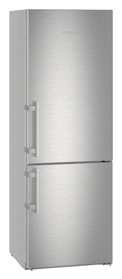 Холодильник LIEBHERR CNef 5715,  двухкамерный, нержавеющая сталь