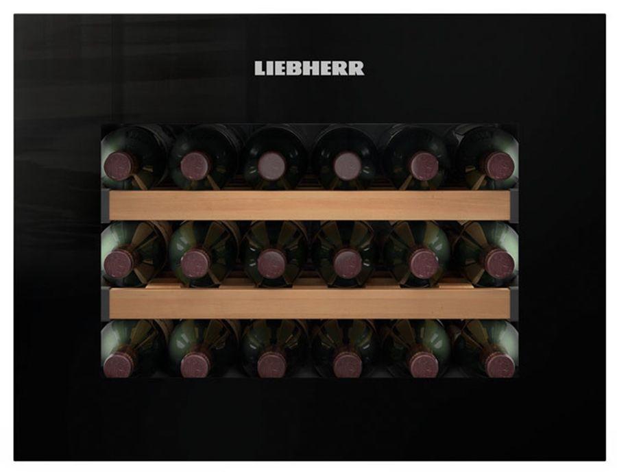 Винный шкаф LIEBHERR WKEgb 582,  однокамерный, черный