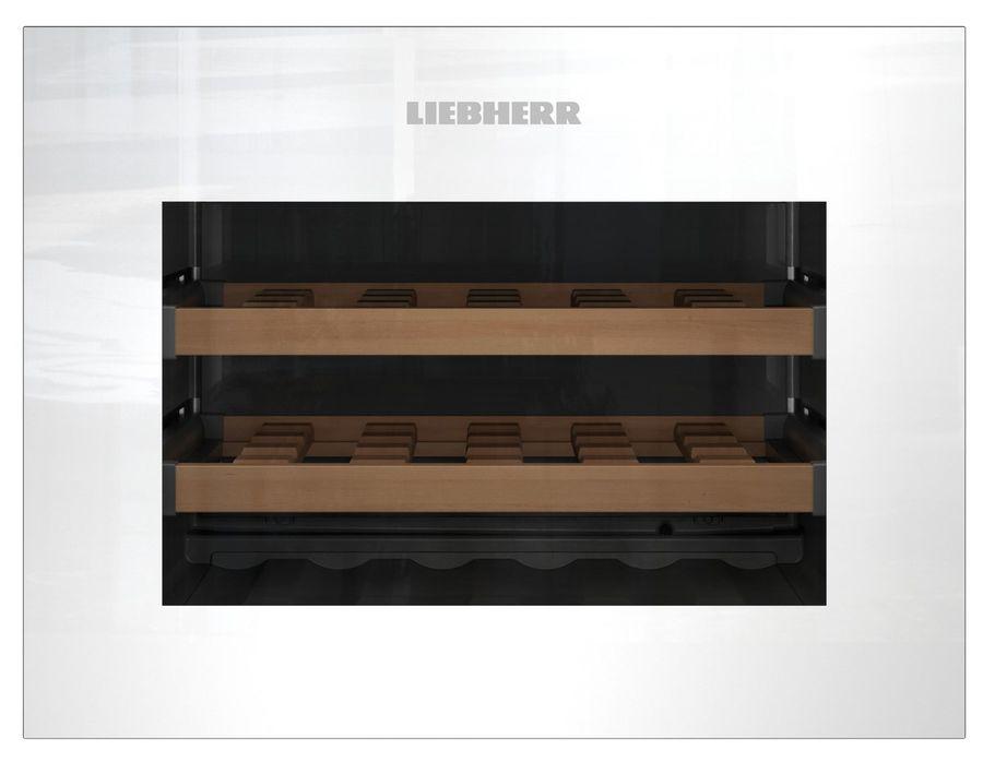 Винный шкаф LIEBHERR WKEgw 582,  однокамерный,  белый