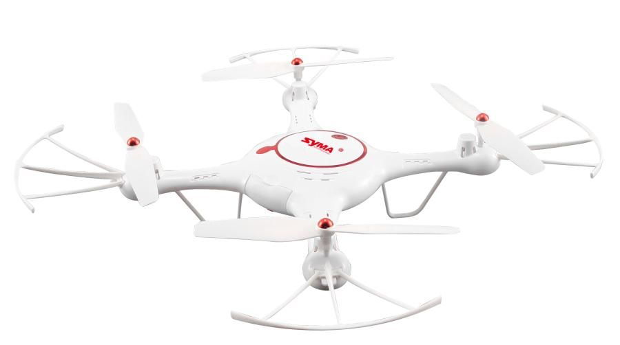 Квадрокоптер SYMA X5UC с камерой,  белый