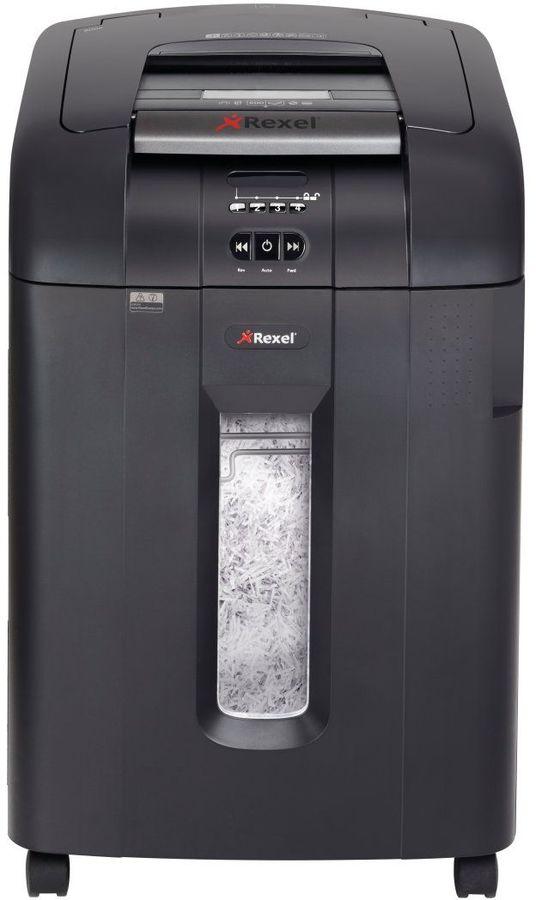 Уничтожитель бумаг REXEL Auto+ 600X,  уровень 3,  P-4,  4х40 мм [2103500eua]