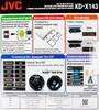 Автомагнитола JVC KD-X143,  USB вид 9