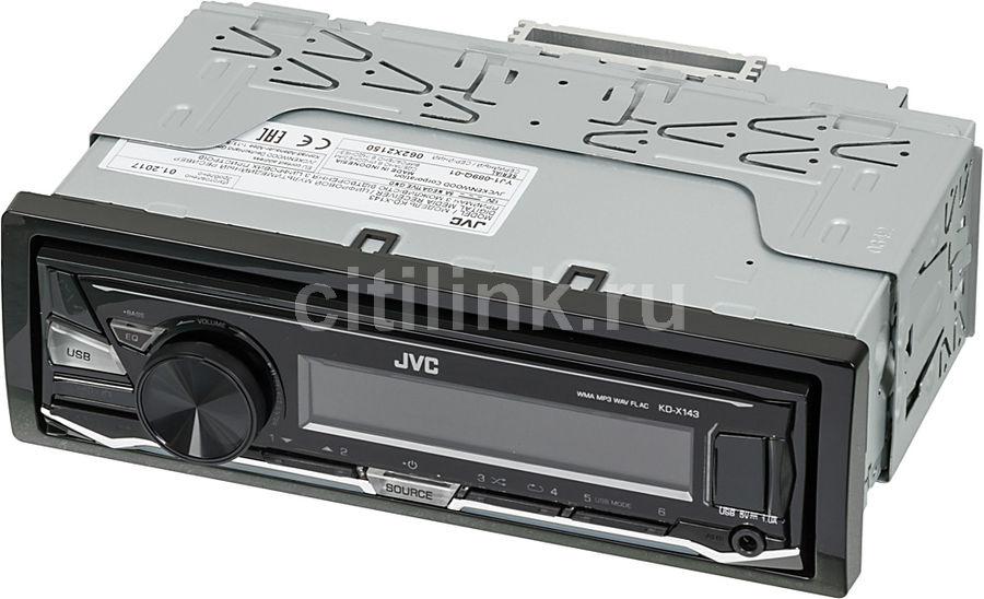 Автомагнитола JVC KD-X143,  USB