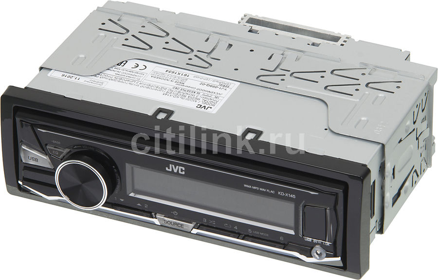 Автомагнитола JVC KD-X145,  USB