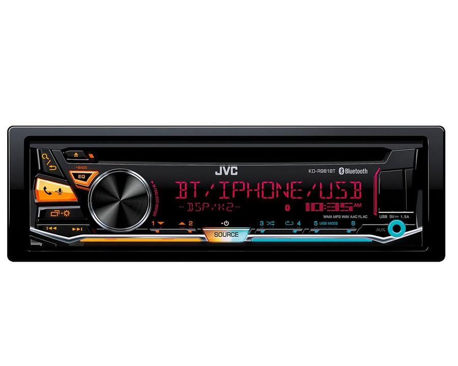 Автомагнитола JVC KD-R981BT,  USB