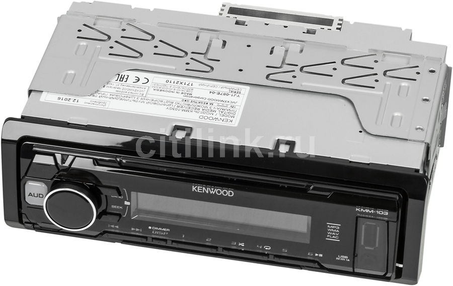 Автомагнитола KENWOOD KMM-103AY, USB автомагнитола usb sd kenwood kmm 361sd