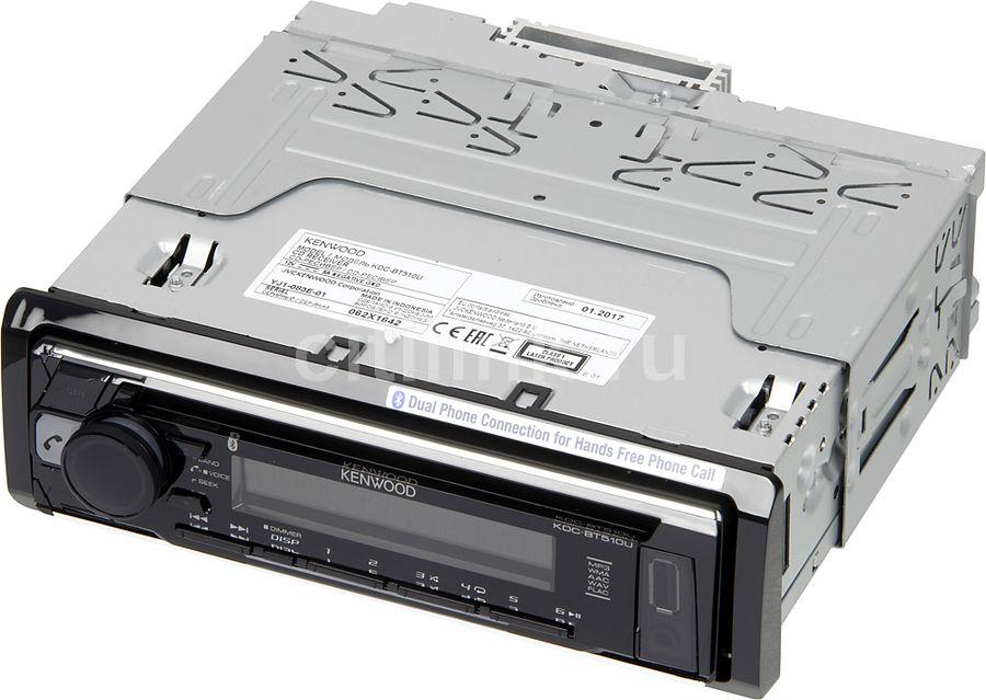 Автомагнитола KENWOOD KDC-BT510U,  USB