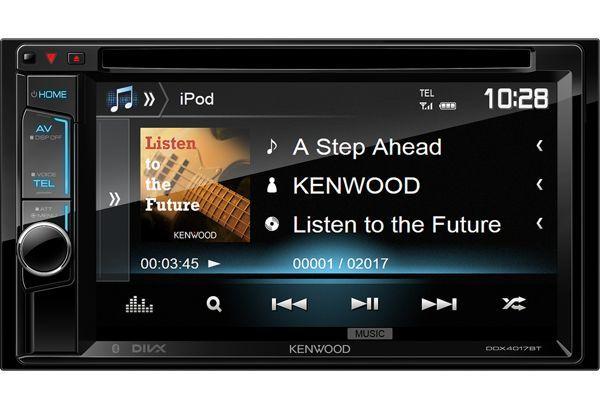 Автомагнитола KENWOOD DDX-4017BTR,  USB