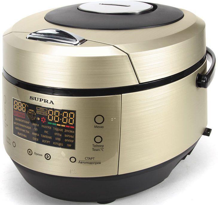 Мультиварка SUPRA MCS-5202G,  860Вт,   шампань [6134]