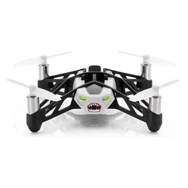 Квадрокоптер PARROT Rolling Spider, с камерой, белый [pf723006]