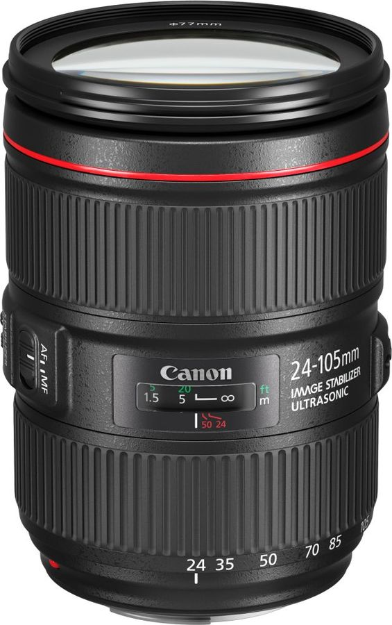 Объектив CANON 24-105mm f/4L EF IS II USM, Canon EF [1380c005] все цены