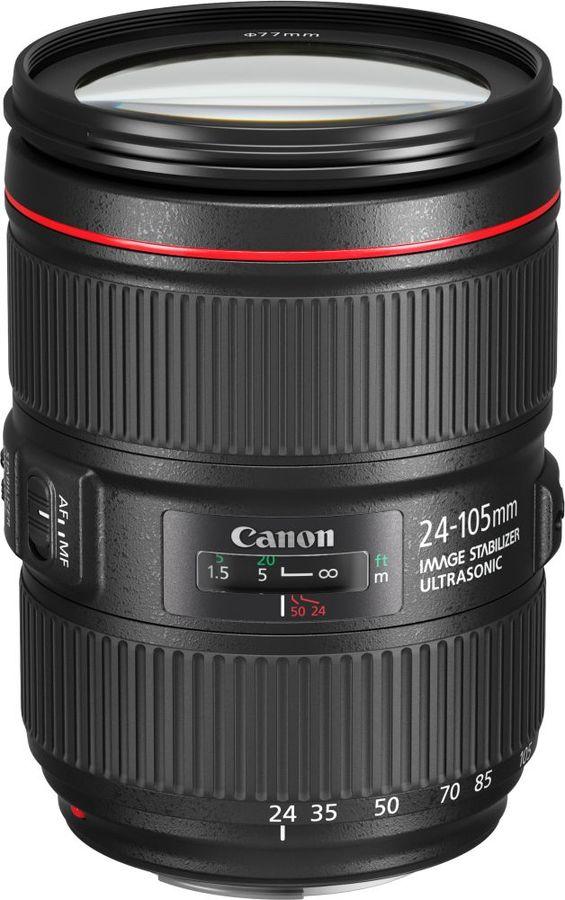 Объектив CANON 24-105mm f/4L EF IS II USM, Canon EF [1380c005]