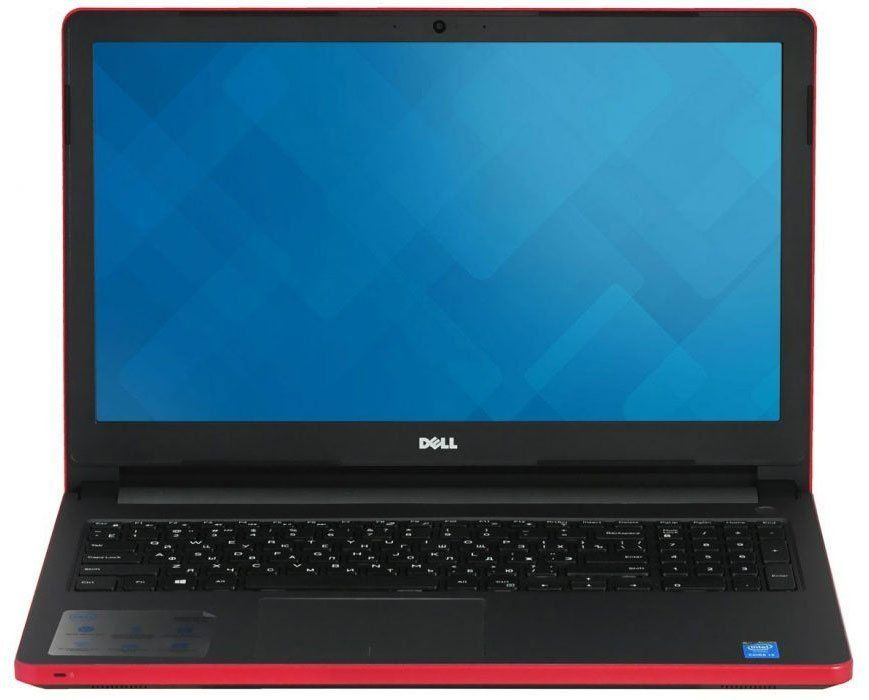 Ноутбук DELL Inspiron 5565, 15.6, AMD A6 9200 2.0ГГц, 4Гб, 500Гб, AMD Radeon R5 M435 - 2048 Мб, DVD-RW, Windows 10, красный [5565-8062]Ноутбуки<br>экран: 15.6;  разрешение экрана: 1366х768; процессор: AMD A6 9200; частота: 2.0 ГГц (2.8 ГГц, в режиме Turbo); память: 4096 Мб, DDR4; HDD: 500 Гб; AMD Radeon R5 M435 - 2048 Мб; DVD-RW; WiFi;  Bluetooth; HDMI; WEB-камера; Windows 10<br><br>Линейка: Inspiron